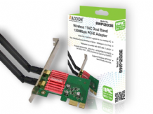 AWP1200E Wireless AC Dual Band 1200Mbps PCI-E Adapter
